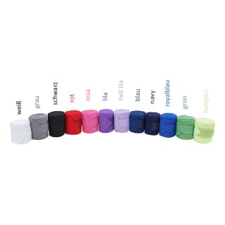 Fleece Bandagen (4er Set)