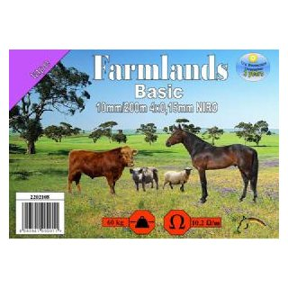 Farmlands, Breitband Basic, 10mm, 200m, 4x0,15 NIRO