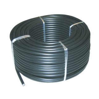 High-voltage underground cable (50m) for fence and ground supply lines.