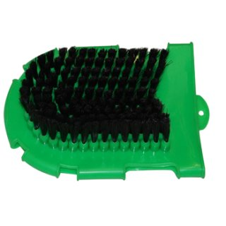 Grooming Glove with bristles and nubs
