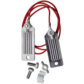 Stainless Steel Connectors for Tape (plates, 40mm)