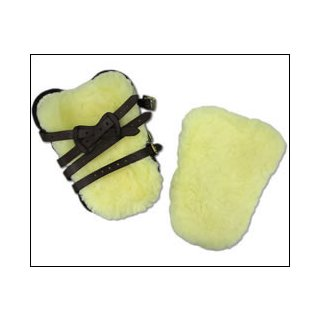 Lambskin for tendon boots