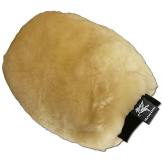 Lambskin grooming mitten (double sided)