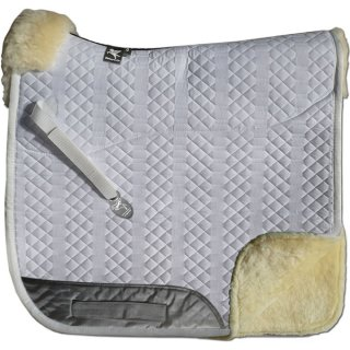 Full saddle pad complete lining and pommel roll