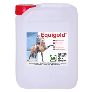 EQUIGOLD Standard Pferdeshampoo, 10 lit, Kanister