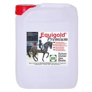 EQUIGOLD Premium Equine shampoo, 5 l canister