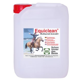 EQUICLEAN Robust & Sensitive Special equine shampoo, 5 l canister