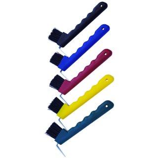 Hoof-Pick-Brush dkl.blau