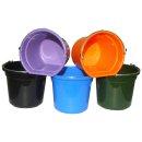 Feed and Water Bucket FlatBack blue