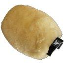 Lambskin grooming mitten (double sided)