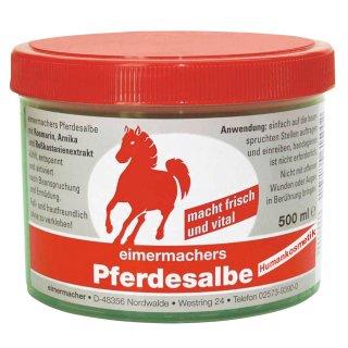 Eimermachers Pferdesalbe 500ml Dose