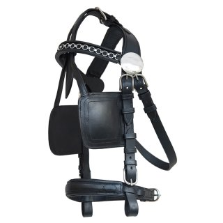 "Bridle ""Top Class"", with blinkers"
