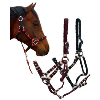 "Halter with leadrope ""Westernstyle"""