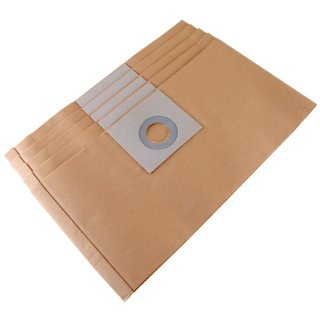 Filter papers S6000, 5 pieces for Favorit S6000 Vacuum Cleaner