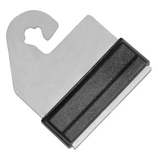 Litzclip - Gate Handle Connector for Tape 4 pieces Stainless steel 40mm