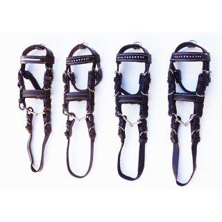 """Mini- Bridle """"Leather"""""""