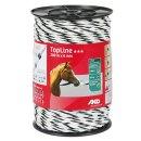 TopLine Plus, Seil, 200m, 6mm, weiß/schwarz, 6 x...