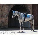 "Saddle pad ""Exclusive Collection"" Silver..."
