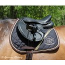 Saddle pad Exclusive Collection Gold Edition black-brown VS
