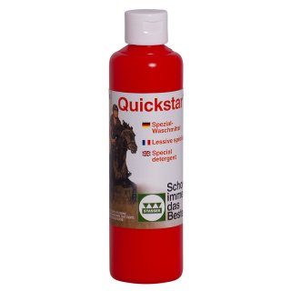 Quickstar® Detergent for leather and wool, 250 ml - sold only as sales unit (12 pieces)