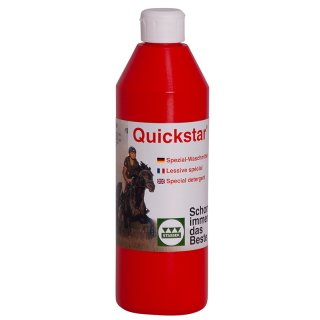 Quickstar® Detergent for leather and wool, 500 ml - sold only as sales unit (12 pieces)
