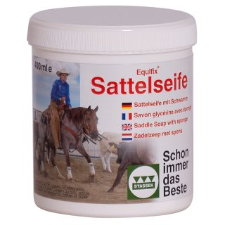 EQUIFIX Saddle Soap, 400 ml - sold only as sales unit (12 pieces)